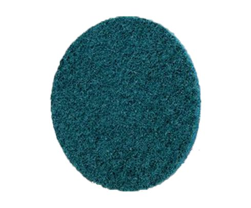 "3M™ 048011-13259 Scotch-Brite™ Roloc™ SC-DS Blue 3"" Very Fine Surface Conditioning Disc - 100 Discs/Pack"