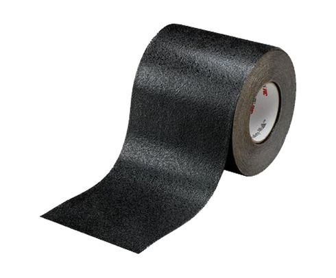 """3M™ 048011-19282 Safety-Walk™ Black 510 Slip-Resistant Conformable Tapes and Treads - 6"""" x 60' Roll"""