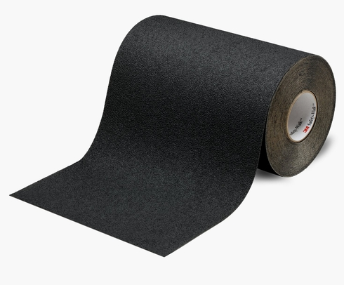 "3M™ 048011-19301 Safety-Walk™ 310 Black Slip-Resistant Medium Resilient Tapes & Treads - 36"" x 60' Roll"