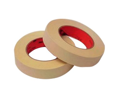 "3M� 021200-04232 Scotch� 214 Tan 5.8 Mil High Temperature Masking Tape - 2"" x 60 Yard Roll"
