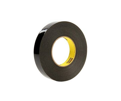 "3M� 021200-61174 Scotch� 226 Black 10.6 Mil Solvent Resistant Masking Tape - 1"" x 60 Yard Roll"