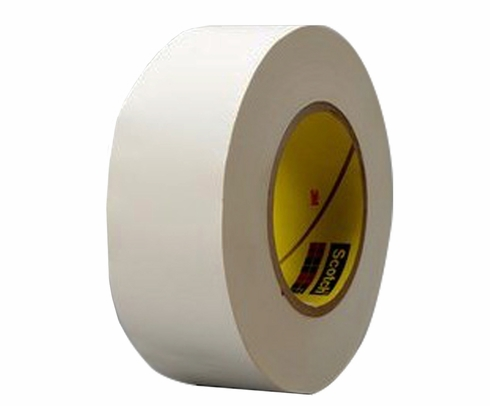 "3M� 021200-03019 Scotch� 365 White 8.3 Mil Thermosetable Glass Cloth Tape - 3/4"" x 60 Yard Roll"