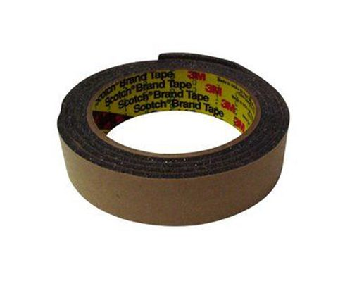 "3M� 051131-06443 Charcoal Gray 4314 Urethane 250 Mil Foam Tape - 1"" x 1/4"" x 18 Yard Roll"