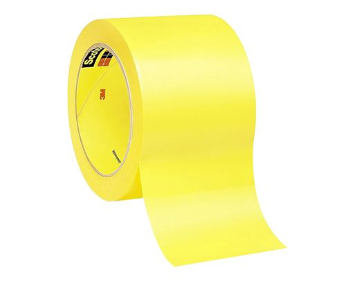 "3M� 021200-06470 Yellow 471 Vinyl 5.2 Mil Tape - 3"" x 36 Yard Roll"