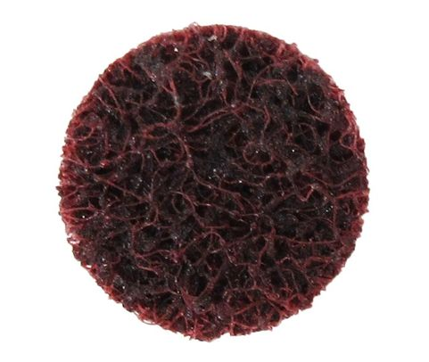 "3M™ 048011-18433 Scotch-Brite™ Roloc™ Sc-Ds Maroon 3/4"" Medium Surface Conditioning Disc"