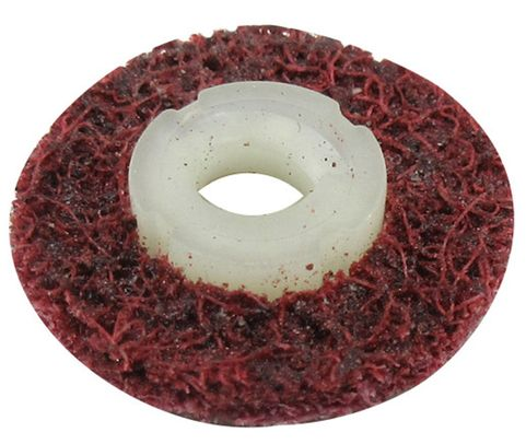 "3M™ 048011-18436 Scotch-Brite™ Roloc™ Sc-Ds Maroon 3/4"" Medium Surface Conditioning Disc"