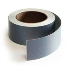 "3M™ 051138-30478 Scotchlite™ 7610 Gray 4 Mil Reflective Tape - 2"" x 50 Yard Roll"