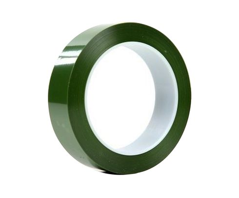 "3M™ 021200-61458 Green 8403 Polyester Tape - 1"" x 72 Yard Roll"