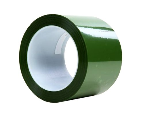 "3M™ 021200-61461 Green 8403 Polyester Tape - 3"" x 72 Yard Roll"