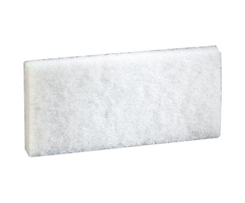 "3M™ 048011-08003 Doodlebug™ 8440 White 4.6"" X 10"" Cleaning Pad - 5/Box"