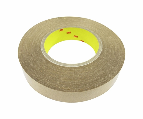 "3M™ 021200-04850 Clear 950 Adhesive 5 Mil Transfer Tape - 1"" x 60 Yard Roll"