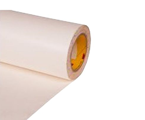 "3M™ 048011-63693 Transparent 8658DL Flame 8 Mil Retardant Polyurethane Protective Tape - 4"" x 0.008 x 36 Yard Roll"