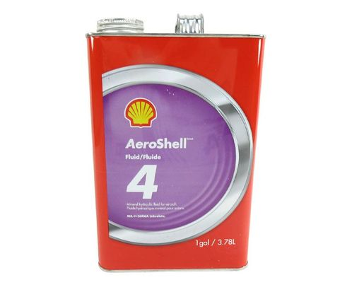 AeroShell™ Fluid 4 Mineral Hydraulic Oil - Gallon Can