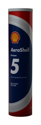 AeroShell� Grease 5 High-Temperature Mineral Aircraft Grease - 400 Gram (14.1 oz) Cartridge