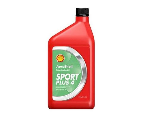 AeroShell™ Oil Sport PLUS 4 Light Sport Aircraft Oil - Liter Bottle