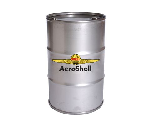 AeroShell� Oil 550041183 W80 SAE Grade 40 Ashless Dispersant Aircraft Oil - 55 Gallon (206.9 Kg) Steel Drum