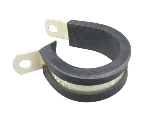 Aerospace Standard AS21919WDG15 Aluminum Band Wedge Chloroprene Cushioned Clamp