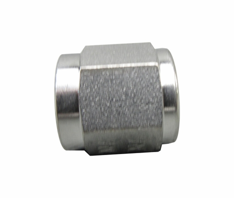 Aeronautical Standard AN818-4J Stainless Steel Nut, Tube Coupling