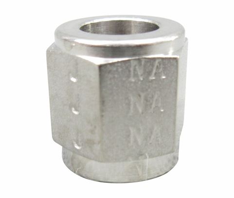 Aeronautical Standard AN818-5J Stainless Steel Nut, Tube Coupling