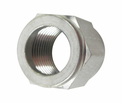 Aeronautical Standard AN818-8J Stainless Steel Nut, Tube Coupling