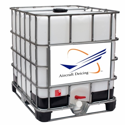 Aircraft Deicing FI 250G (Ready to Use) Type I Aircraft Ground De-icing Fluid - 250 Gallon Tote