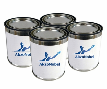 AkzoNobel ECL-G-101/PC-233/TR-109 Eclipse Gray BAC707 BMS 10-60 Spec High-Solids Polyurethane Enamel Topcoat - 4 Gallon Kit