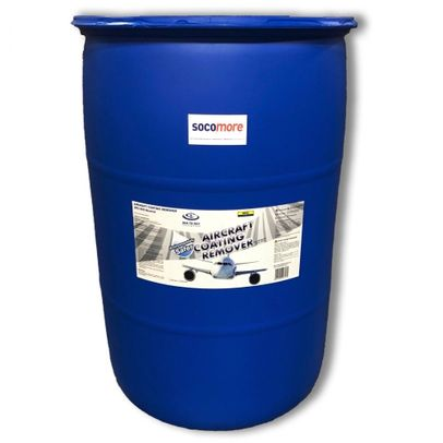 Sea To Sky™ SPC-909N Blue Hydrogen Peroxide Gel Paint Stripper - 190 Liter (50 Gallon) Drum