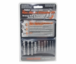 Alden 1007P Drill-Out® / Micro Grabit® / X-Out® Broken Bolt & Damaged Screw 10-Piece Extractor Kit