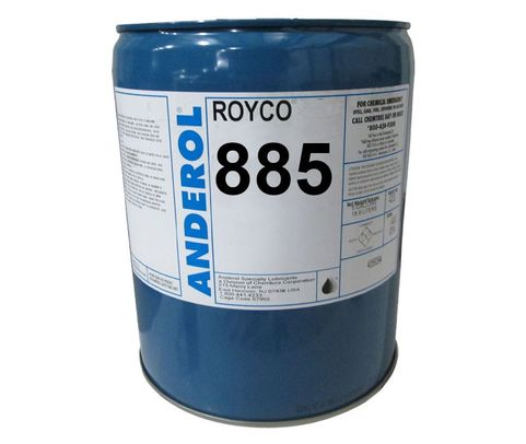 ROYCO� 885 Amber MIL-PRF-6085E Spec General-Purpose Instrument Lubricating Oil - 5 Gallon Steel Pail