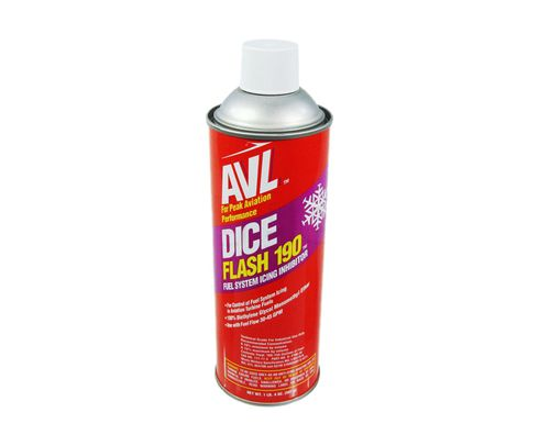 AvLabs D-F190-20 DICE Flash 190 (FSII) Fuel System Ice Inhibitor - 20 oz Aerosol Can