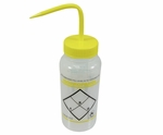 "Bel-Art F11646-0624 ""Isopropyl Alcohol"" Safety-Labeled 500 mL (16 fl oz) Wash Bottle"
