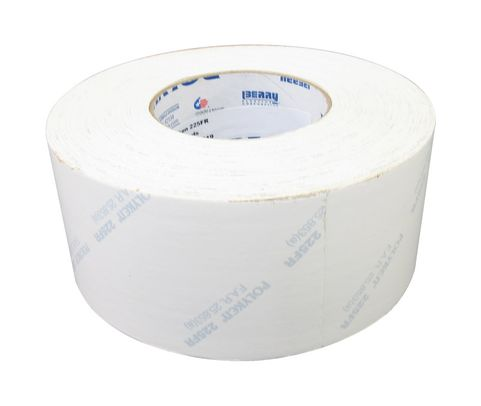 POLYKEN� 225FR-3-WHT White 12mil Flame Retardant Cargo Pit Duct Tape - 72mm x 55 Meter Roll