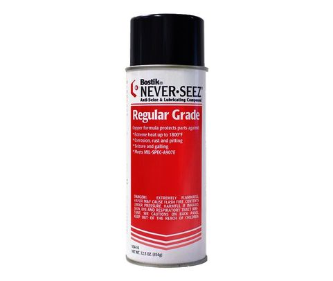 Bostik NSA-16 Never-Seez Regular Grade Anti-Seize & Lubricating Compound - 12.5 oz Aerosol Can