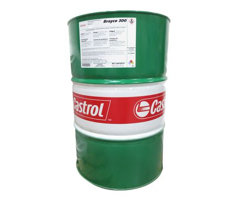 Castrol� Brayco� 300 Amber MIL-PRF�-32033A Type I Class 1 Spec Low Temperature Water Displacing General-Purpose Preservative - 55 Gallon Steel Drum