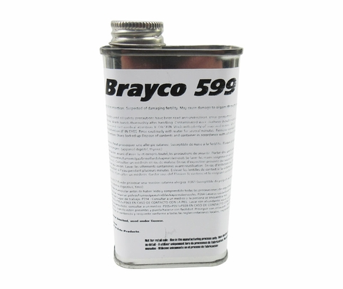 Castrol� Brayco� 599 Amber MIL-PRF-23699/D50TF6-S2 Spec Synthetic Turbine Oil Rust Preventive Concentrate - 8 oz Tin
