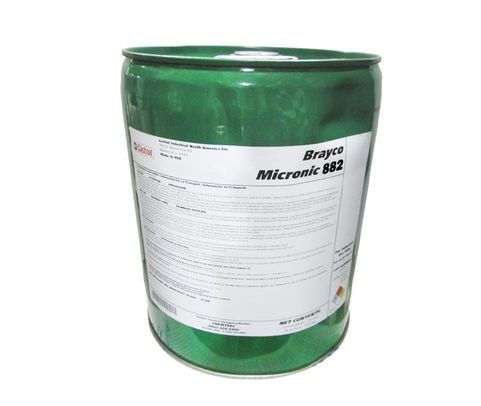 Castrol� Brayco� Micronic 882 Red MIL-PRF-83282D (1) Spec Full Synthetic ISO 15 Hydraulic Fluid - 5 Gallon Steel Pail