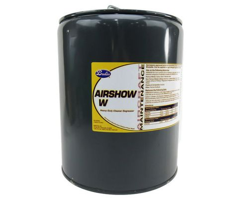 Brulin 391002-05 Airshow W Aerospace Specification Exterior Plane Wash - 5 Gallon Pail