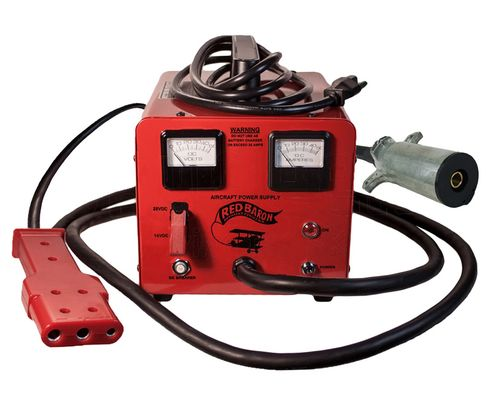 Bycan RB-14/28-25EP Red Baron 230-VAC Auxiliary Power Unit - Piper + AN2551/Cessna Plug