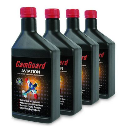 CamGuard Advanced Engine Oil Supplement - 4 Bottle/Pack