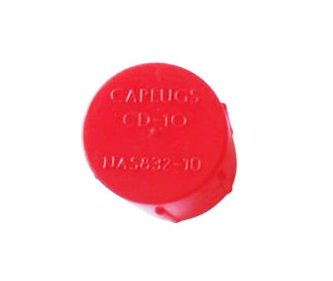 Caplug CD-10 Red 7/8-14 Threaded Plastic Dust & Moisture Cap