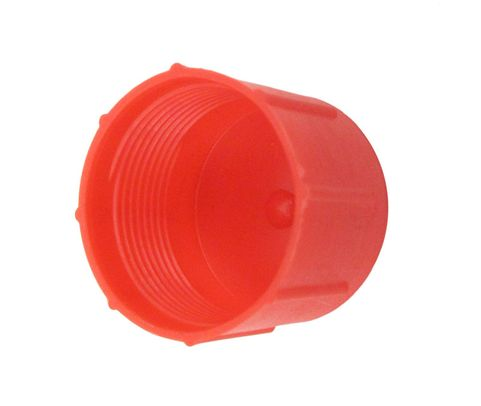 Caplug CD-TC-120 Red 1-20 Threaded Plastic Dust & Moisture Cap
