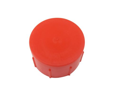 Caplug CD-TC-18 Red 1-5/16-12 Threaded Plastic Dust & Moisture Cap