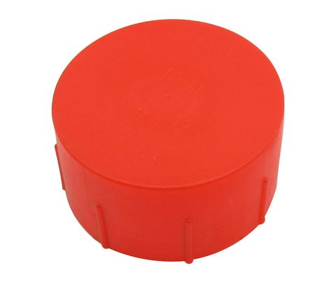 Caplug CD-TC-21 Red 1-7/8-12 Threaded Plastic Dust & Moisture Cap
