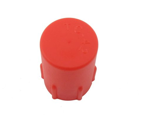 Caplug CD-TC-42 Red 1/2-20 Threaded Plastic Dust & Moisture Cap
