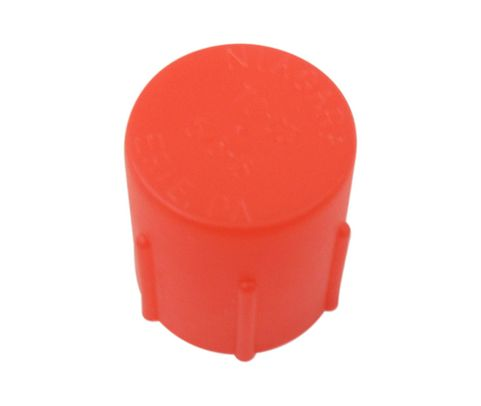 Caplug CD-TC-63 Red 5/8-18 Threaded Plastic Dust & Moisture Cap
