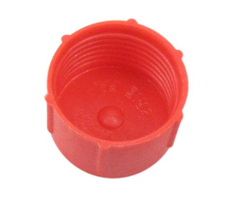 Caplug CD-TC-8-S Red 3/4-16 Threaded Plastic Dust & Moisture Cap