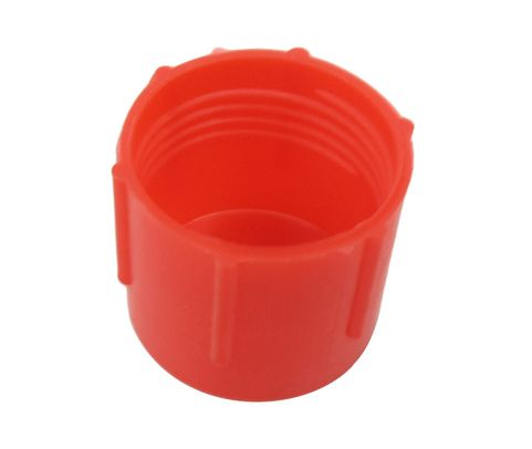 Caplug CD-TC-82 Red 3/4-18 Threaded Plastic Dust & Moisture Cap
