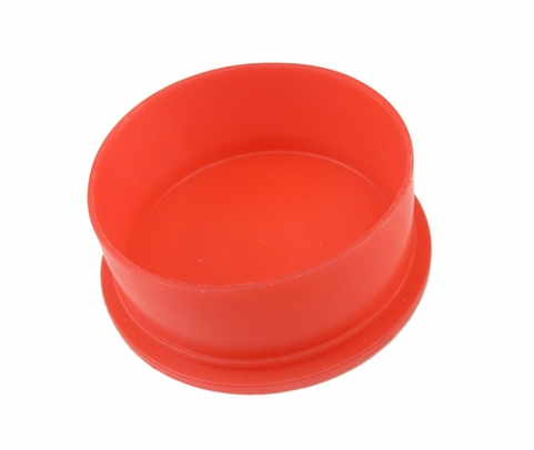 "Caplug EC-22 Red 1-3/8"" Threaded Dust & Moisture Connector Caps"