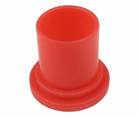 "Caplug EC-6 Red 3/8"" Threaded Dust & Moisture Connector Caps"