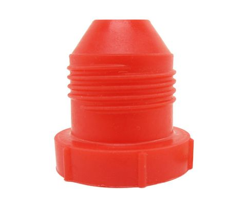"Caplug PD-100 Red 5/8"" Threaded Plastic Dust & Moisture Plug"